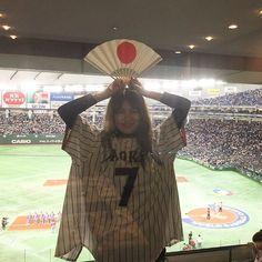 岩堀せりのインスタグラム(Instagram)写真 - 「WBC侍ジャパン勝利😭‼️ #aokinorichika」3月7日 23時38分