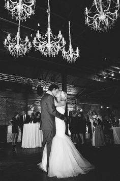 love this first dance shot!