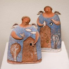 Новости Paper Mache Clay, Clay Art, Ceramic Clay, Ceramic Pottery, Paper Dolls, Art Dolls, Pottery Angels, Porcelain Insulator, Ceramic Angels