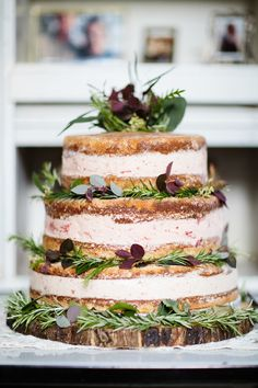 rustic layered ice cream cake | Wedding & Party Ideas | 100 Layer Cake