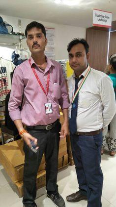 Met Store Manager of V-MART for retail placement and RPL.   #PMOIndia #RajivPratapRudy #SkillIndia  #NSDC #PMKVY #PMKK