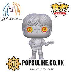 John Lennon, Beatles, Pop Vinyl Figures, Disney Marvel, Funko Pop Vinyl, Thor, The Darkest, Stitch, Fictional Characters