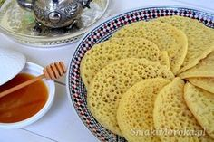 Moroccan pancakes with holes Baby Food Recipes, Indian Food Recipes, Sweet Recipes, Cooking Recipes, Finger Food Appetizers, Appetizer Recipes, Crepes And Waffles, Czech Recipes, Simply Recipes