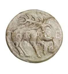 Silver phalera (2nd half of the 4th century B.C.) ©Vassil Bojkov Collection #thracian #silver #phalera #roman #bulgarian