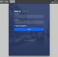 33 best free css html login form templates design sparkle 가보고