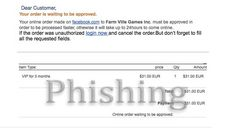 Fake Farmville VIP Receipt Email Tries to Steal Your PayPal Info #PayPal #scam #phishing