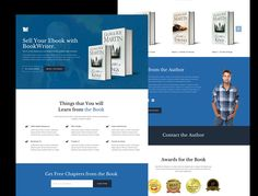 BookWriter is a minimal ebook landing page built with bootstrap 3.2. This is fully mobile responsive template ideal for any book marketing campaign.