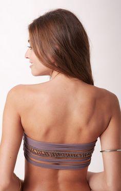 ohia bandeau bikini top // Acacia Swim #planetblue #whatsnew