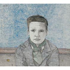 freud, lucian boy's head ||| figure ||| sotheby's l11024lot65k3den