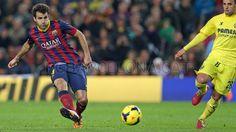 FC Barcelona, Ces Fábregas trasladando el balón. | FC Barcelona 2-1 Villareal| J.16  [14.12.13] FOTO: MIGUEL RUIZ - FCB