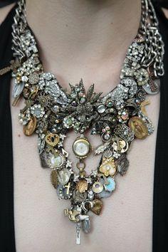 Statement Jeweled Necklace