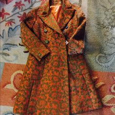 Spotted while shopping on Poshmark: Vintage brocade coat! #poshmark #fashion #shopping #style #Vintage #Jackets & Blazers