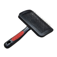 Yichong Peto Pet Supplies Dog Cat Grooming Self Cleaning Slicker Brush For Pet,Gently Removes Loose Undercoat, Mats and Tangled Hair,Painless Cleaning Stainless Steel Beauty Massage Comb * Check out this great image  : Dog Grooming