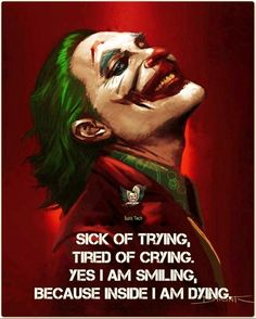 Joker Movie Quotes 50 Best Quotes, On We Bring to You These 50 Best Quotes and sayings from joker Movie. Joker Qoutes, Best Joker Quotes, Badass Quotes, Best Quotes, Crazy Quotes, Reality Quotes, Mood Quotes, Attitude Quotes, Shyari Quotes