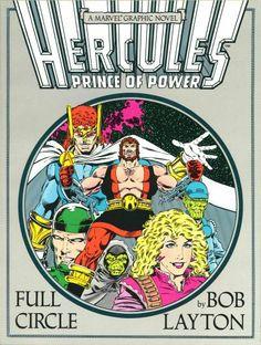 Marvel Graphic Novel # 37 by Bob Layton