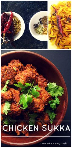 Travel along the Western Coast of India, from Malabar, through Mangalore to Goa, and the diversity of their cuisines will amaze you. Ingredients and produce that are so similar, yet with distinct and (Kerala Chicken Curry) Chicken Recipes Dry, Indian Chicken Recipes, Veg Recipes, Curry Recipes, Indian Food Recipes, Cooking Recipes, Ethnic Recipes, Roast Recipes, Vegetarian Recipes