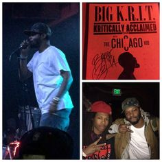 Big K. w/ BJ the Chicago Kid and Input & Broken at Cervantes' Masterpiece Ballroom (November Bj The Chicago Kid, November 13, Concerts, Friday, Big, Movies, Movie Posters, Films, Film Poster