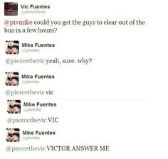 hmm wonder why victor what are you up to