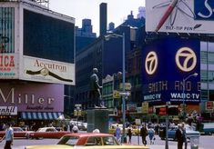 September, 1964 Photographer unknown Old Time New York City New York City, Times Square, September, Nyc, Travel, Viajes, New York, Destinations, Traveling