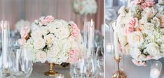 Posh Peony Blush Pink Wedding at Pelican Hill Romantic Centerpieces, Wedding Reception, Wedding Day, Blush Pink Weddings, Romantic Look, Spray Roses, Luxury Wedding, Peony, Event Design