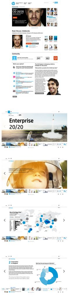 HP 20/20 - Collaborative eBook to define the vision of Enterprise.