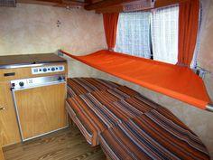 A true 4 berth Pan familia...A hammock for the boy