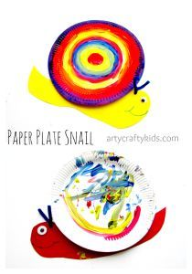 """This Paper Plate Snail craft is all about silly shells and the freedom for imaginations to sparkle. A simple craft that's perfect for young children and within a group or preschool setting, supporting the story """"NORMAN The Slug with the Silly Shell"""""""