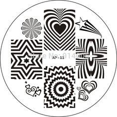Aliexpress.com: Купить Новый AP1 35 ногтей плита изображения. лак для шаблона ногтей диск, выбрать дизайн для а . п . серия ногтей инструменты из Надежный искусство моделей деко дизайн поставщиков на beautiful color nail