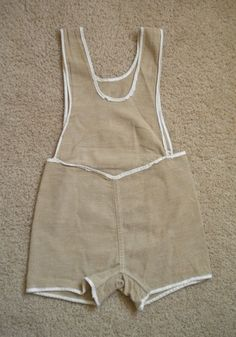 Vintage 1940s Child's Romper Sunsuit Playsuit Overalls Onesie to Wear or Pattern