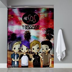 Cheap 5 seconds of summer Shower Curtain cheap and best quality. *100% money back guarantee #summer2017 #summer #fall2017 #fall #autumn2017 #autumn #2017 #uCaser #HomeDecor #Home #Decor #Showercurtain #Shower #Curtain #Bathroom #Bath #Room #eBay #Amazon #New #Top #Hot #Best #Bestselling #HomeLiving #Print #On #Printon #Fashion #Trending #Woman #Man #Teenager #Cheap #Rare #Limited #Edition #LimitedEdition #Unbranded #Generic #Custom #Design #Beautiful #Cool #Accessories #Master #Piece #Luxury