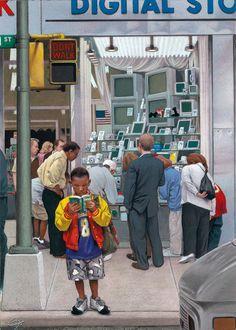 Age of Technology by CF Payne, via Behance