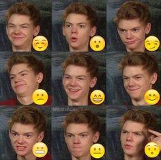 Funny Thomas Brodie Sangster, Newt Emoji, Thomas Brodie Sangster Newt, Emoji Thomas, Thomas Sangster Funny, Thomas Brodie Sangster Funny, The Maze Runner ...