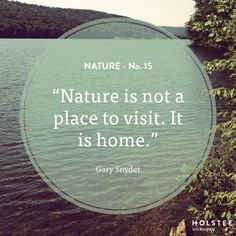 It is home. #nature