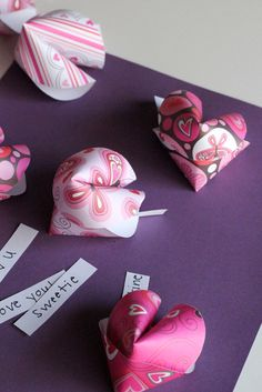 DIY Valentine cards, takeout style « Splash of Something
