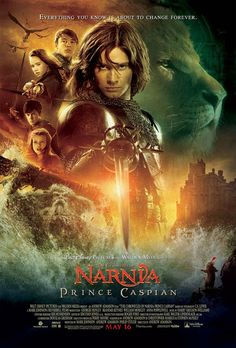Chronicles of Narnia: Prince Caspian (2008). Ben Barnes,  Georgie Henley, Skandar Keynes, William Moseley, Anna Popplewell, Warwick Davis. Fantasy | Adventure.