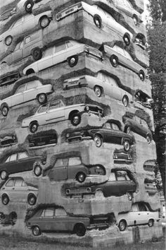 concrete cars