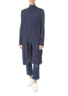 This is the Ribbed Blue Cardigan by stunning brand 525 America. Layer on this ribbed knit duster cardigan for a touch of modern élan. Leopard Dress, Pink Leopard, America Signature, America Outfit, 525 America, Modern Essentials, Blue Cardigan, Striped Shorts, Yellow Dress