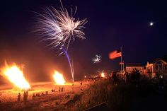 Humarock Beach  Scituate, MA  - Independence Day Celebration