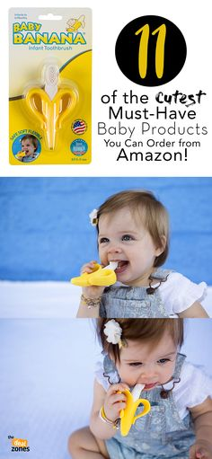 11 of the Cutest Must-Have Baby Products You Can Order from Amazon! #baby #amazon #products