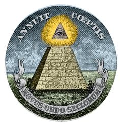 CONSPIRACY theorists believe a shadowy group known as the Illuminati is controlling the world. Illuminati Conspiracy, Conspiracy Theories, Moral Evil, Novus Ordo Seclorum, Masonic Art, Eye Symbol, Astrology, Maori, Books