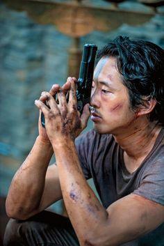 Steven Yuen as Glenn Rhee - The Walking Dead