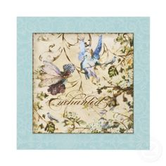 Wedding/fairy themed invitations