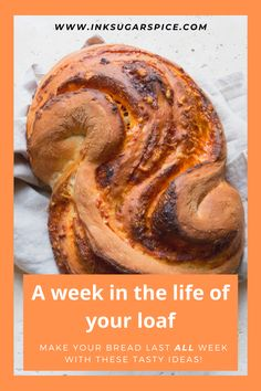 Never throw bread away again with these ideas for making the most of your loaf. Fabulous recipes and ideas for each day of your bread - right down to the last day! #bread #lockdowncooking #cooking #frugal #nowaste #ideas #recipes #wastenot #food Spice Bread, Dry Bread, Best Butter, Types Of Bread, Italian Salad, Sticky Buns, Curry Paste, Granny Smith