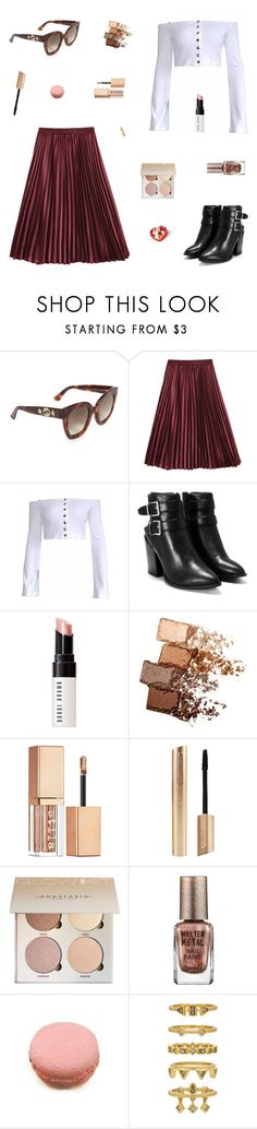 """Appreciate"" by belenloperfido ❤ liked on Polyvore featuring Gucci, Nasty Gal, Bobbi Brown Cosmetics, Maybelline, Stila, Barry M, Ladurée and Luv Aj"