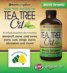 Tea Tree Oil - 100% Pure ATTIA Certified, Pharmaceutical Grade Essential Oil from Australia (2 oz) - Superior Grade Especially For: Skin Tags, Acne, Fungus, Odor, Lice, Shampoo, Antiseptic, Eczema, Cuts, Burns and ...... -- Discover this special product, click the image : Cleansers