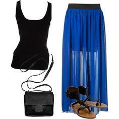 """""""Blue Skirt"""""""