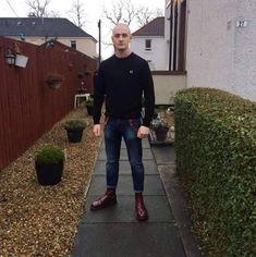 Skinhead Men, Skinhead Boots, Skinhead Fashion, Skinhead Style, Girl Fashion Style, Mod Fashion, Punk Fashion, Fashion Outfits, Fashion Ideas