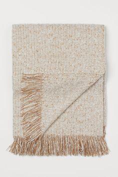 Soft plaid - Beige / white mixed - HOME | H&M NL 1