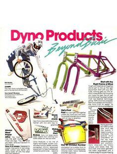 1985 Dyno D-30 - BMXmuseum.com Bmx Bicycle, Bmx Bikes, Trek Road Bikes, Gt Bmx, Old Scool, Kickin It Old School, Bmx Racing, Bmx Freestyle, Cycling Art