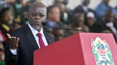 """Image copyright                  AFP                  Image caption                                      John Magufuli is known as """"The Bulldozer"""" for driving a programme to build roads                                On John Magufuli's first day as Tanzania's president a year ago, he created a storm on social media by making an unannounced vi"""